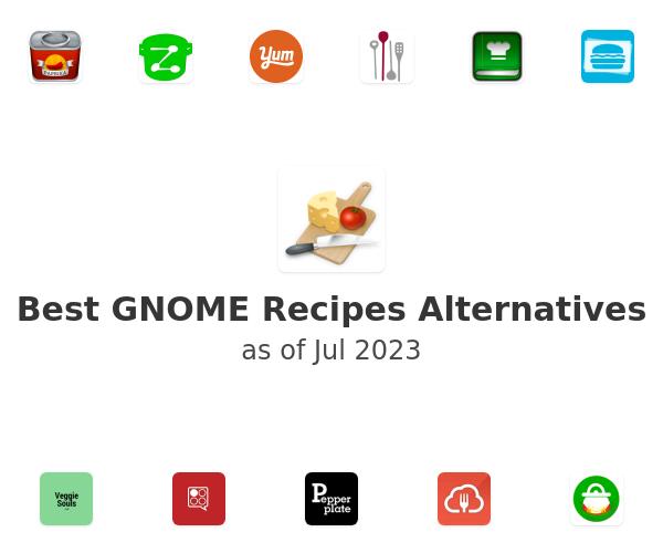 Best GNOME Recipes Alternatives