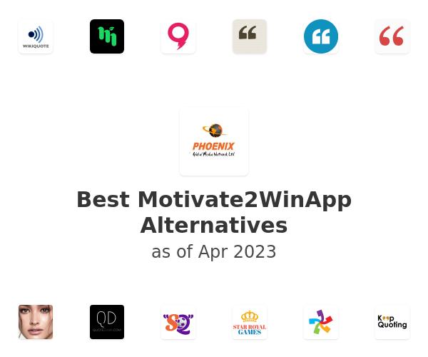 Best Motivate2WinApp Alternatives