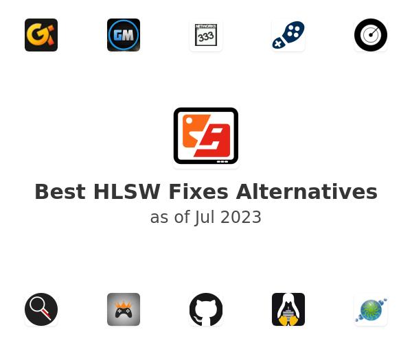Best HLSW Fixes Alternatives