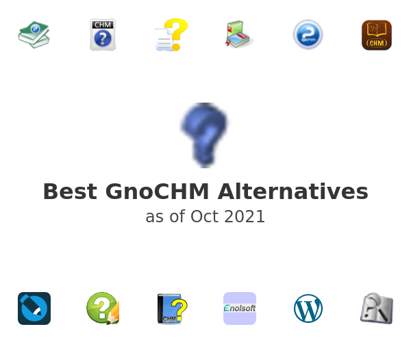 Best GnoCHM Alternatives