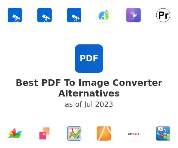 Best PDF To Image Converter Alternatives
