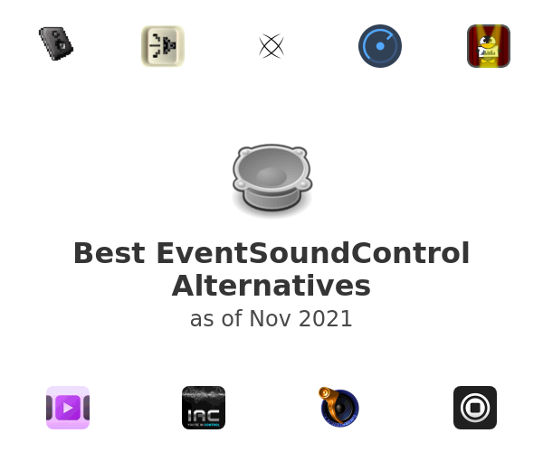 Best EventSoundControl Alternatives
