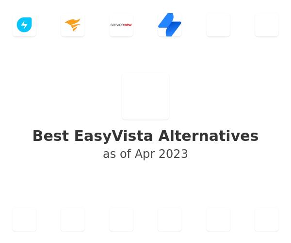 Best EasyVista Alternatives