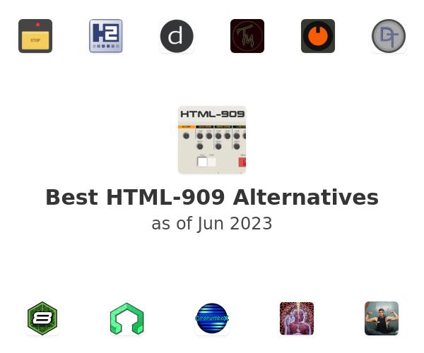 Best HTML-909 Alternatives