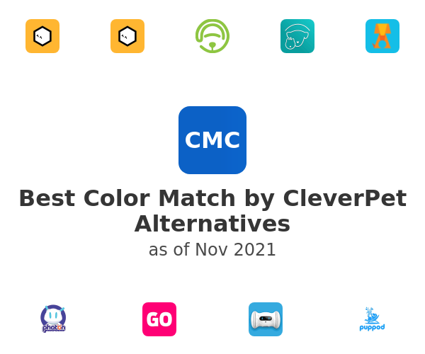 Best Color Match by CleverPet Alternatives