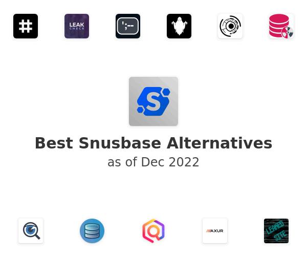Best Snusbase Alternatives