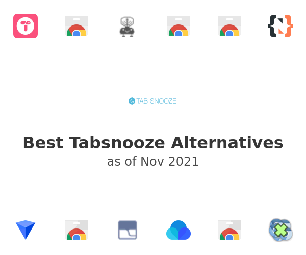 Best Tabsnooze Alternatives