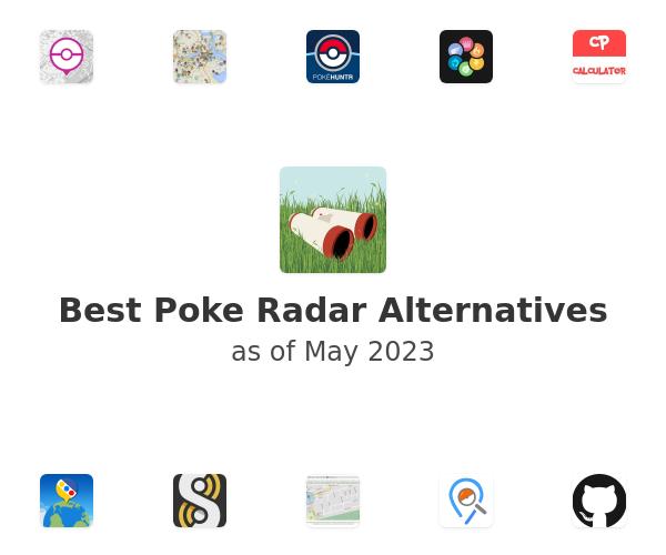 Best Poke Radar Alternatives