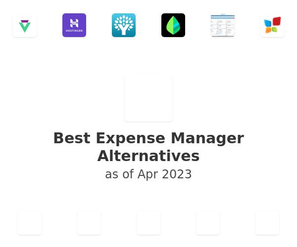 Best Expense Manager Alternatives