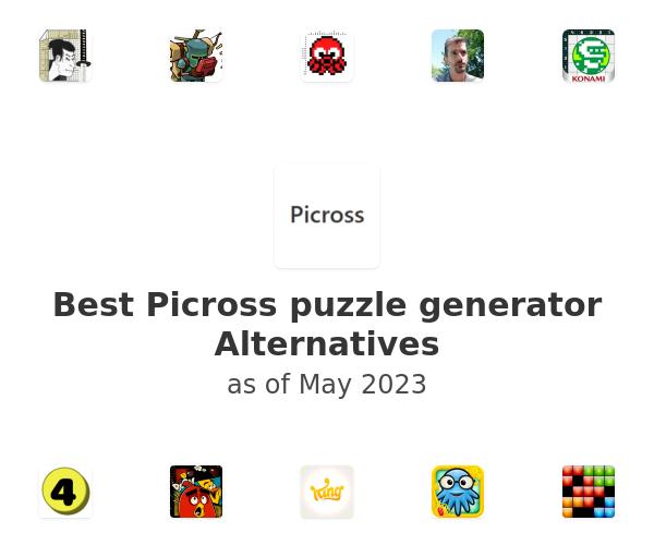 Best Picross puzzle generator Alternatives