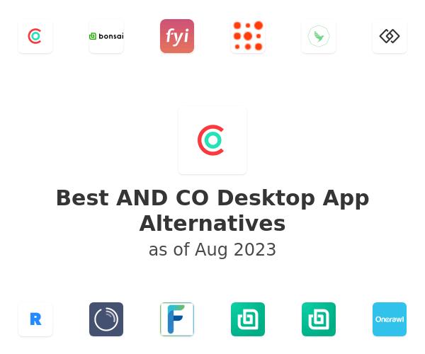 Best AND CO Desktop App Alternatives