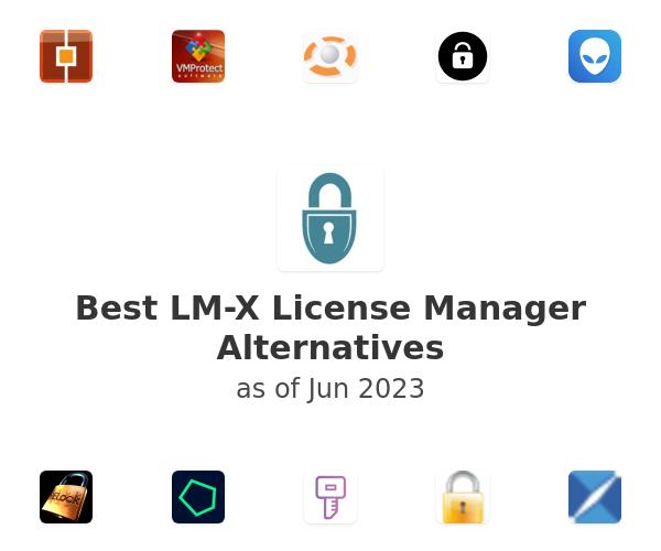 Best LM-X License Manager Alternatives