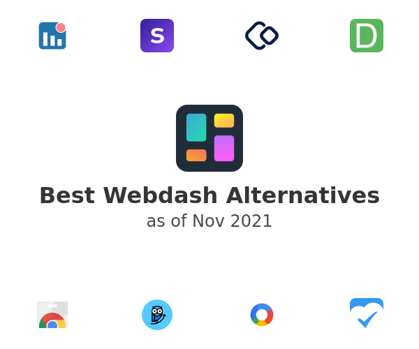 Best Webdash Alternatives