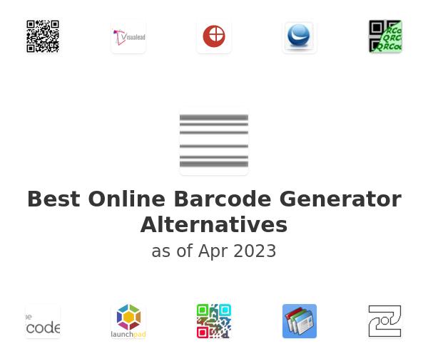 Best Online Barcode Generator Alternatives