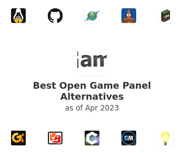 Best Open Game Panel Alternatives