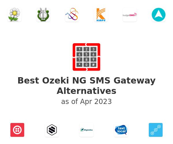 Best Ozeki NG SMS Gateway Alternatives