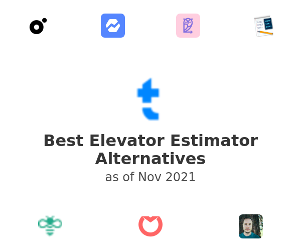 Best Elevator Estimator Alternatives
