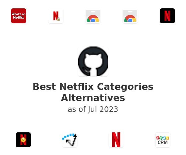 Best Netflix Categories Alternatives