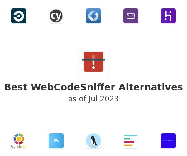 Best WebCodeSniffer Alternatives