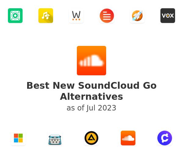 Best New SoundCloud Go Alternatives