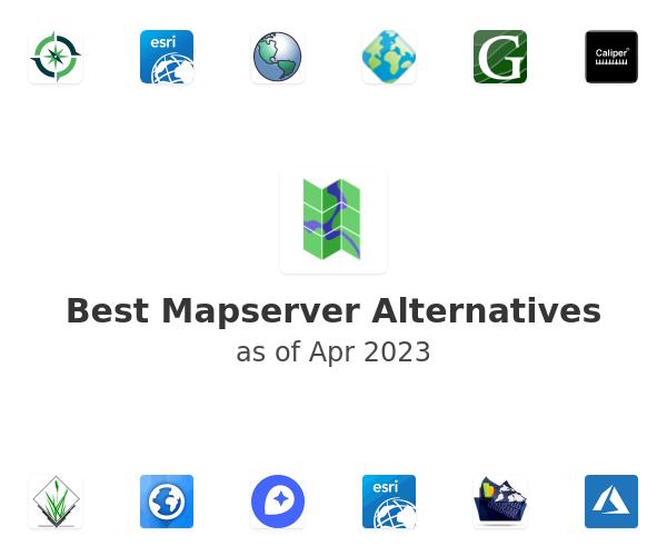 Best Mapserver Alternatives
