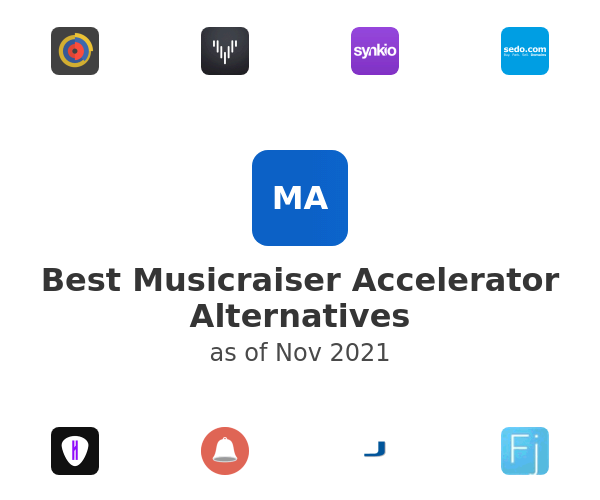 Best Musicraiser Accelerator Alternatives