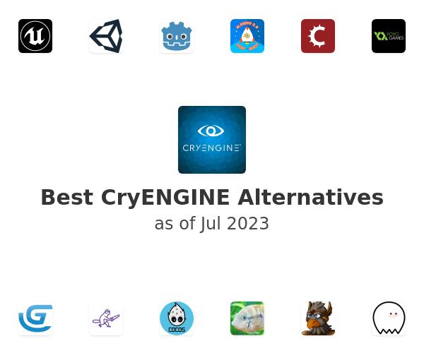 Best CryENGINE Alternatives