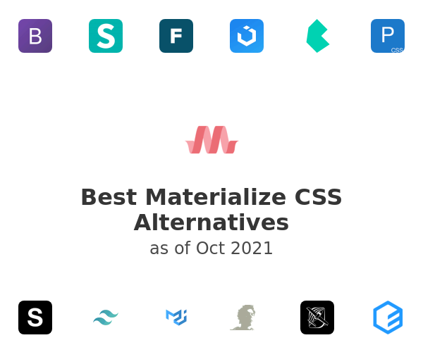 Best Materialize CSS Alternatives