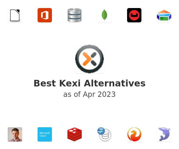 Best Kexi Alternatives