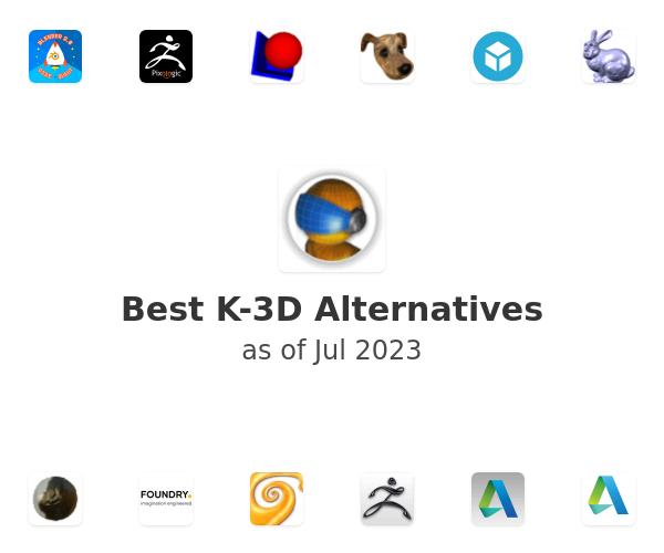 Best K-3D Alternatives