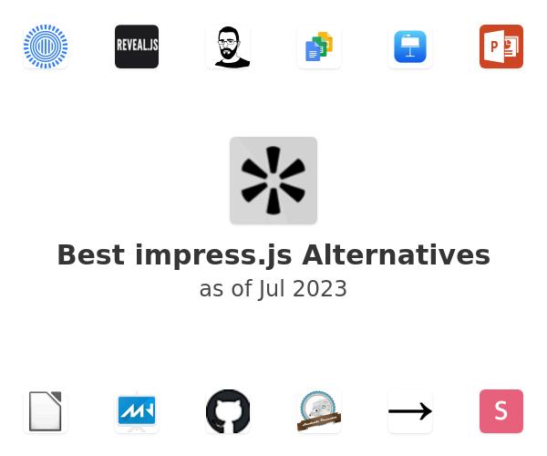 Best impress.js Alternatives