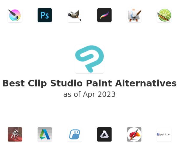Best Clip Studio Paint Alternatives