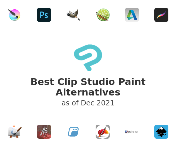 Best Clip Studio Paint Alternatives