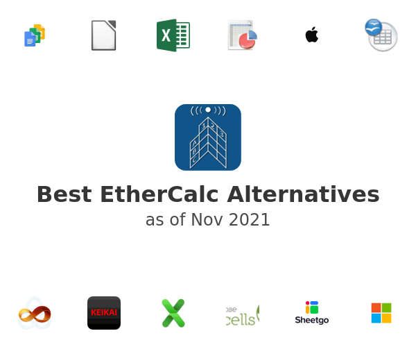 Best EtherCalc Alternatives