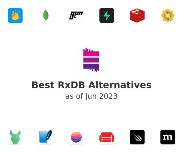 Best RxDB Alternatives