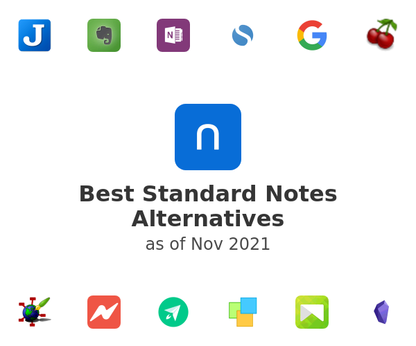 Best Standard Notes Alternatives