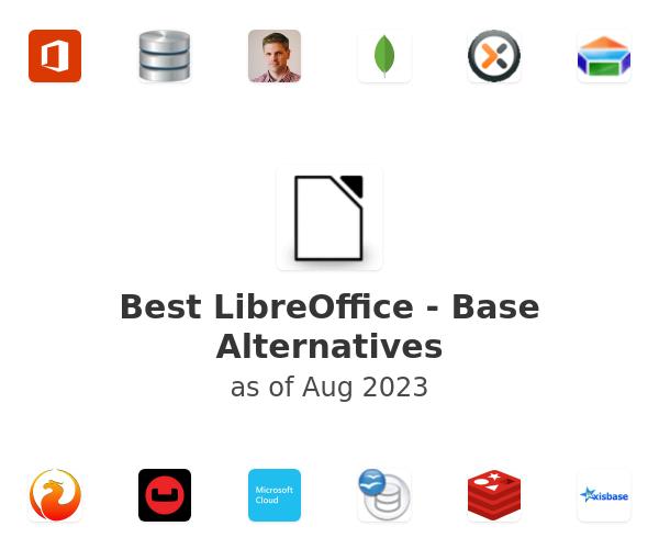 Best LibreOffice - Base Alternatives