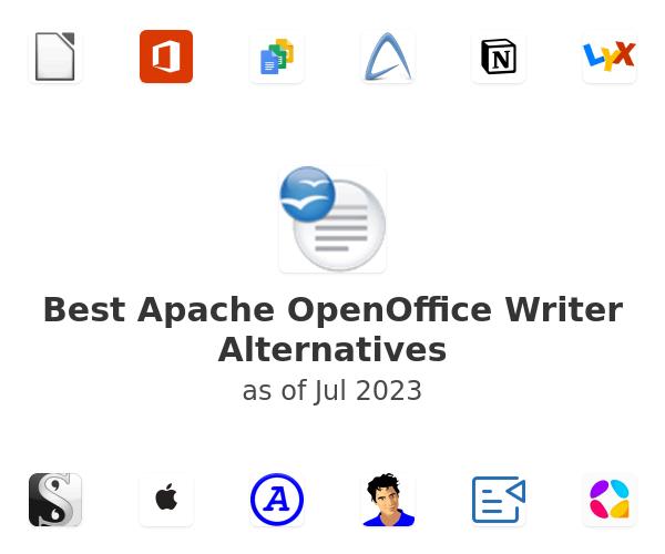 Best Apache OpenOffice Writer Alternatives