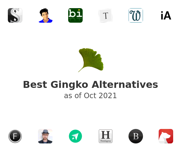 Best Gingko Alternatives
