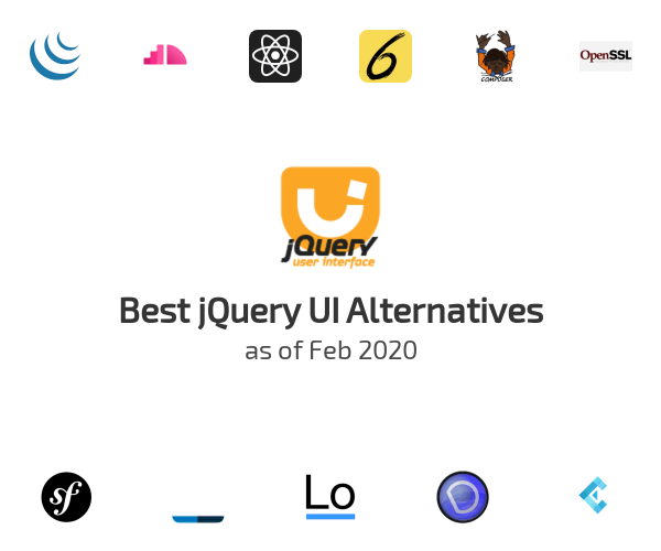 Best jQuery UI Alternatives