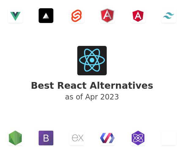 Best React Alternatives