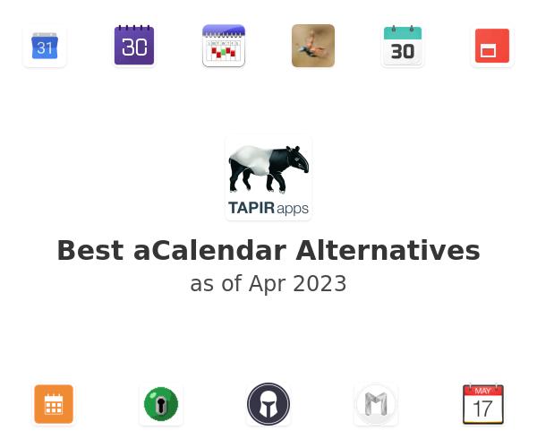 Best aCalendar Alternatives