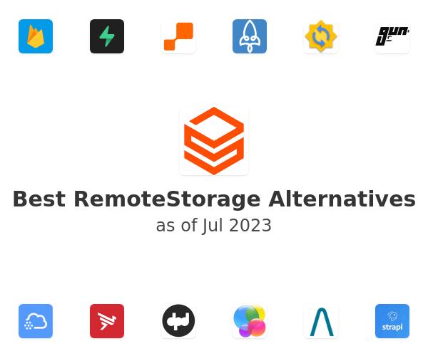 Best RemoteStorage Alternatives