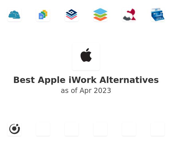 Best Apple iWork Alternatives