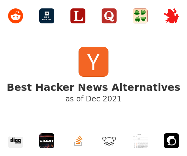 Best Hacker News Alternatives