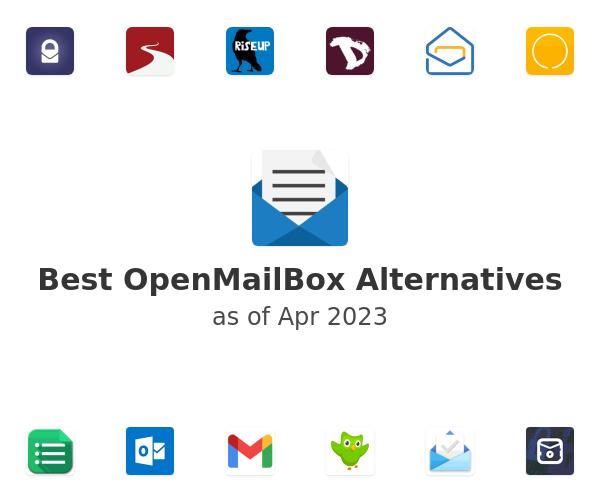 Best OpenMailBox Alternatives
