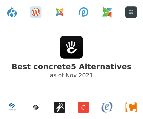 Best concrete5 Alternatives