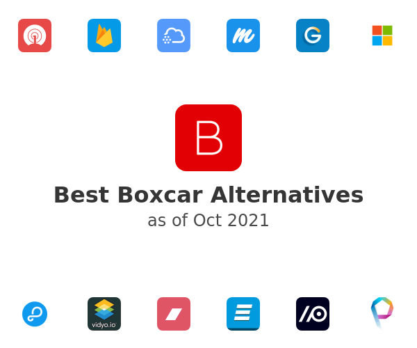 Best Boxcar Alternatives