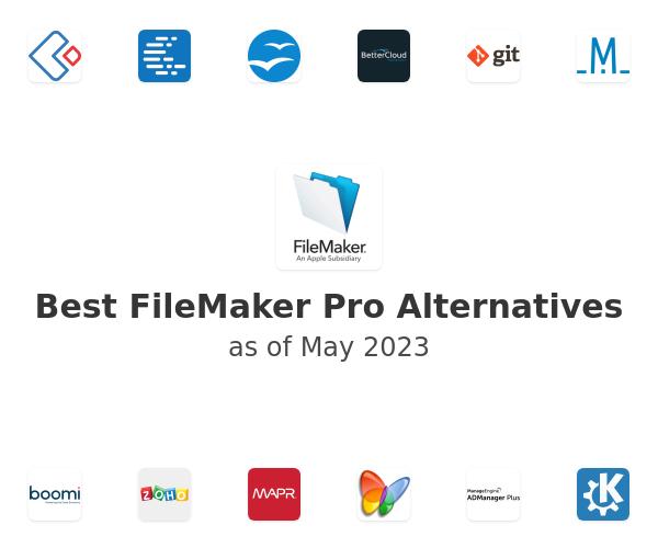 Best FileMaker Pro Alternatives