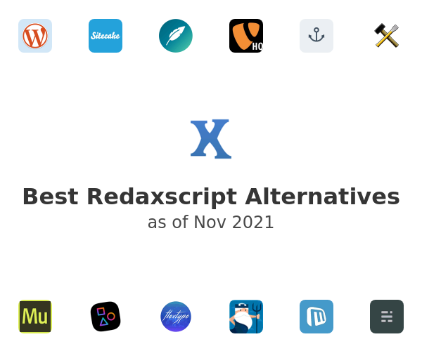 Best Redaxscript Alternatives